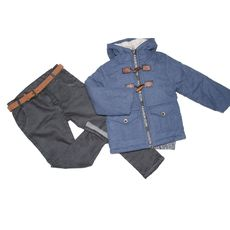 Комплект куртка и утепленные штаны, фото 1