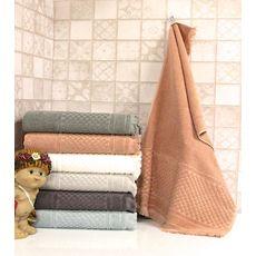 """Махровое полотенце c бахрамой 50х90 """"Castel"""" 6 шт, фото 1"""