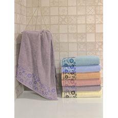 """Махровое полотенце 50х90 """"Hayat"""" 6 шт, фото 1"""