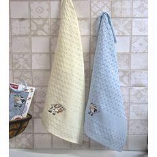 """Кухонное полотенце в упаковке 45x65*2 """"Бык""""-1, фото 1"""