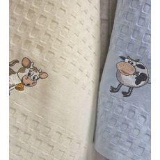 """Кухонное полотенце в упаковке 45x65*2 """"Бык""""-1, фото 3"""