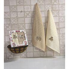 """Кухонное полотенце в упаковке 45x65*2 """"Бык""""-2, фото 1"""