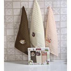 """Кухонное полотенце в упаковке 45x65*3 """"Бык""""-6, фото 1"""