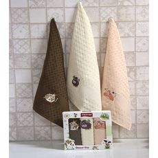 """Кухонное полотенце в упаковке 45x65*3 """"Бык""""-6, фото 2"""