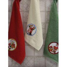 """Набор полотенец """"Дед мороз"""" (30х50*3), фото 2"""