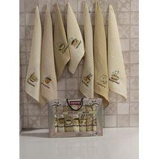 "Кухонное полотенце в упаковке 45x65*7 ""Неделька"", фото 1"