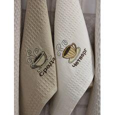 "Кухонное полотенце в упаковке 45x65*7 ""Неделька"", фото 2"