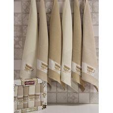 "Кухонное полотенце в упаковке 50x70*6 ""Кофе"", фото 1"
