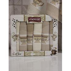 "Кухонное полотенце в упаковке 50x70*6 ""Кофе"", фото 2"