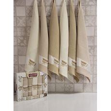 "Кухонное полотенце в упаковке 50x70*6 ""Кофе"", фото 3"