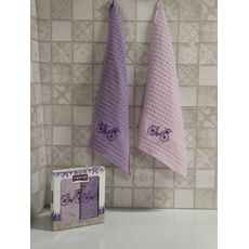 "Кухонное полотенце в упаковке 45x65*2 ""Велосипед-1"", фото 1"