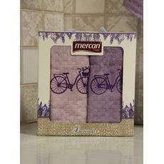 "Кухонное полотенце в упаковке 45x65*2 ""Велосипед-1"", фото 3"