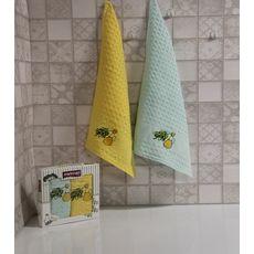 """Кухонное полотенце в упаковке 45x65*2 """"Олива-2"""", фото 1"""
