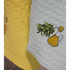 """Кухонное полотенце в упаковке 45x65*2 """"Олива-2"""", фото 2"""