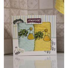 """Кухонное полотенце в упаковке 45x65*2 """"Олива-2"""", фото 3"""