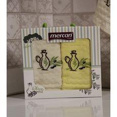 """Кухонное полотенце в упаковке 45x65*2 """"Олива-3"""", фото 2"""