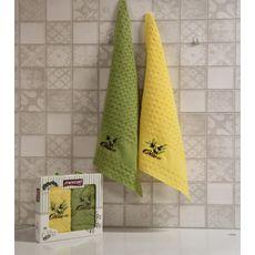 """Кухонное полотенце в упаковке 45x65*2 """"Олива-4"""", фото 1"""