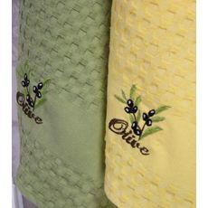 """Кухонное полотенце в упаковке 45x65*2 """"Олива-4"""", фото 3"""