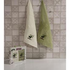 """Кухонное полотенце в упаковке 45x65*2 """"Олива-5"""", фото 1"""