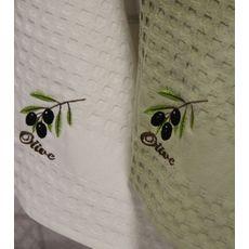 """Кухонное полотенце в упаковке 45x65*2 """"Олива-5"""", фото 3"""