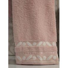 """Махровое полотенце 50х90 """"Gravel"""" розовый, фото 2"""