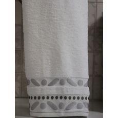 """Махровое полотенце 50х90 """"Gravel"""" белый, фото 2"""