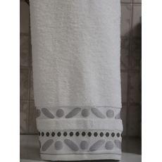 """Махровое полотенце 70х140 """"Gravel"""" белый, фото 2"""