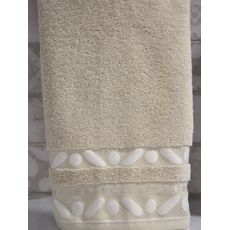 """Махровое полотенце 50х90 """"Gravel"""" бежевый, фото 2"""