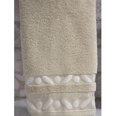 "Махровое полотенце 70х140 ""Gravel"" кремовый, фото 2"