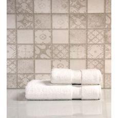 """Набор полотенец в пвх """"Sandra"""" (50х90+70х140), белый, фото 1"""