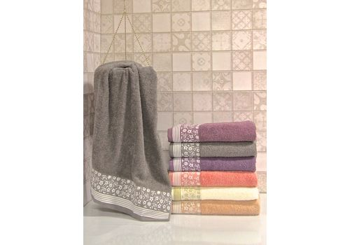 """Махровое полотенце 70х140 """"Berfin"""" 6 шт., фото 3"""
