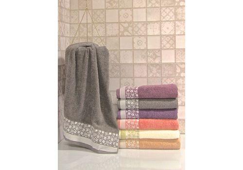 """Махровое полотенце 50х90 """"Berfin"""" 6 шт., фото 3"""