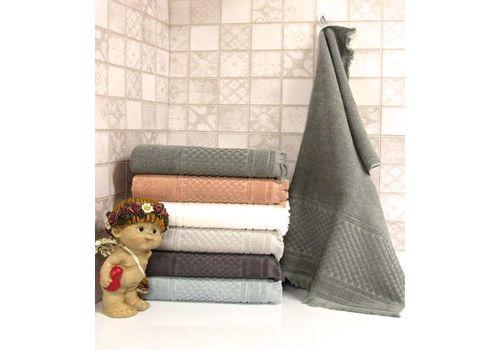 """Махровое полотенце c бахрамой 50х90 """"Castel"""" 6 шт, фото 3"""