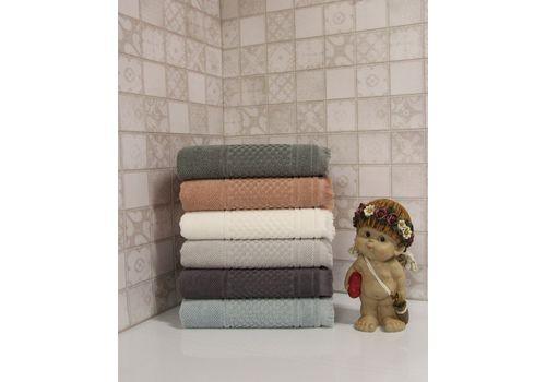 """Махровое полотенце c бахрамой 70х140 """"Castel"""" 6 шт, фото 7"""
