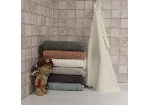 """Махровое полотенце c бахрамой 70х140 """"Castel"""" 6 шт, фото 1"""