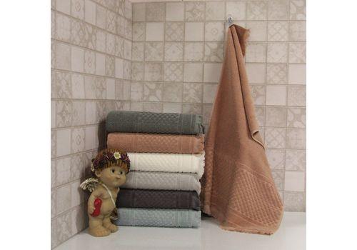 """Махровое полотенце c бахрамой 70х140 """"Castel"""" 6 шт, фото 2"""