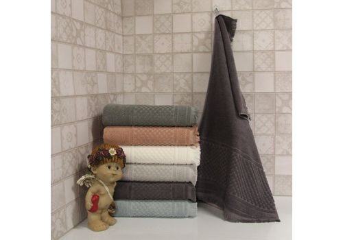"""Махровое полотенце c бахрамой 70х140 """"Castel"""" 6 шт, фото 3"""