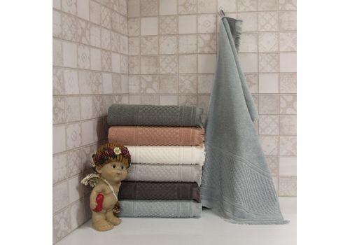 """Махровое полотенце c бахрамой 70х140 """"Castel"""" 6 шт, фото 4"""