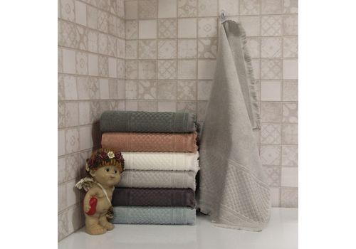 """Махровое полотенце c бахрамой 70х140 """"Castel"""" 6 шт, фото 5"""