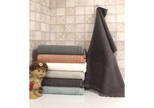"""Махровое полотенце c бахрамой 50х90 """"Castel"""" 6 шт, фото 7"""