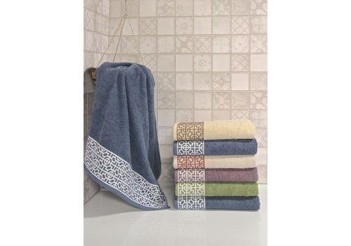 """Махровое полотенце 70х140 """"Denis"""" 6 шт, фото 3"""