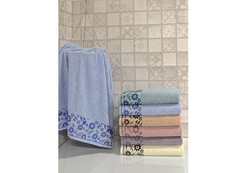 """Махровое полотенце 50х90 """"Hayat"""" 6 шт, фото 2"""
