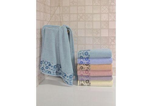 """Махровое полотенце 70х140""""Hayat"""" 6 шт, фото 3"""