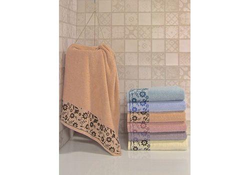 """Махровое полотенце 50х90 """"Hayat"""" 6 шт, фото 5"""