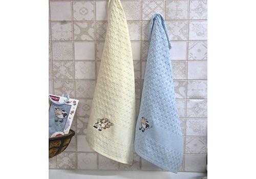 """Кухонное полотенце в упаковке 45x65*2 """"Бык""""-1, фото 2"""