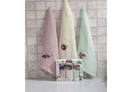 """Кухонное полотенце в упаковке 45x65*3 """"Бык""""-5, фото 1"""
