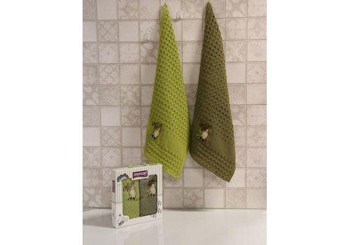 """Кухонное полотенце в упаковке 45x65*2 """"Олива-1"""", фото 1"""
