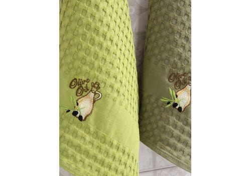 """Кухонное полотенце в упаковке 45x65*2 """"Олива-1"""", фото 3"""