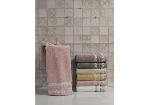 """Махровое полотенце 50х90 """"Gravel"""" розовый, фото 1"""