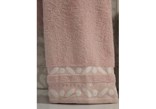 """Махровое полотенце 70х140 """"Gravel"""" розовый, фото 2"""
